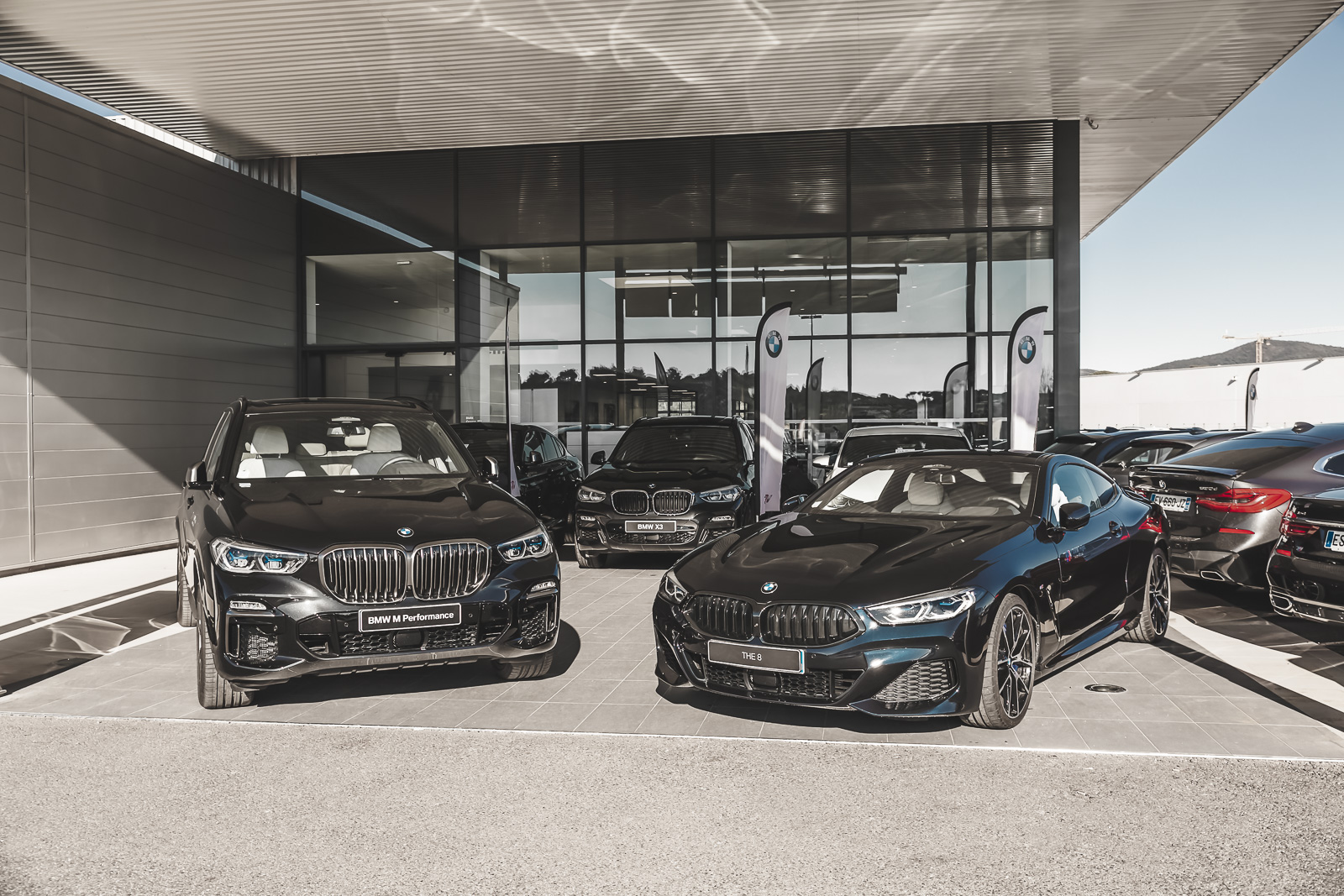 Vendeurs showroom BMW clients particuliers